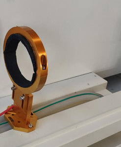 Fijacion tubo de laser Lasering LT