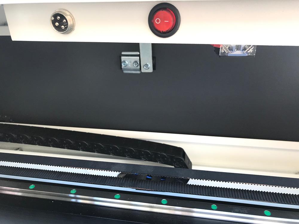 Maquina laser LASERING LT conexion suplemento giratorio